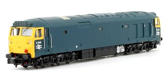 Class 50 #D406 BR Blue (Unrefurbished) - DCC Sound