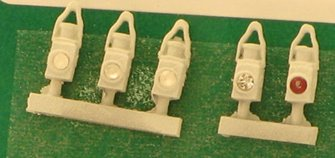 BR Head & Tail Lamps White (5)