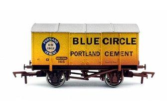 Gunpowder Van Blue Circle 165 Weathered