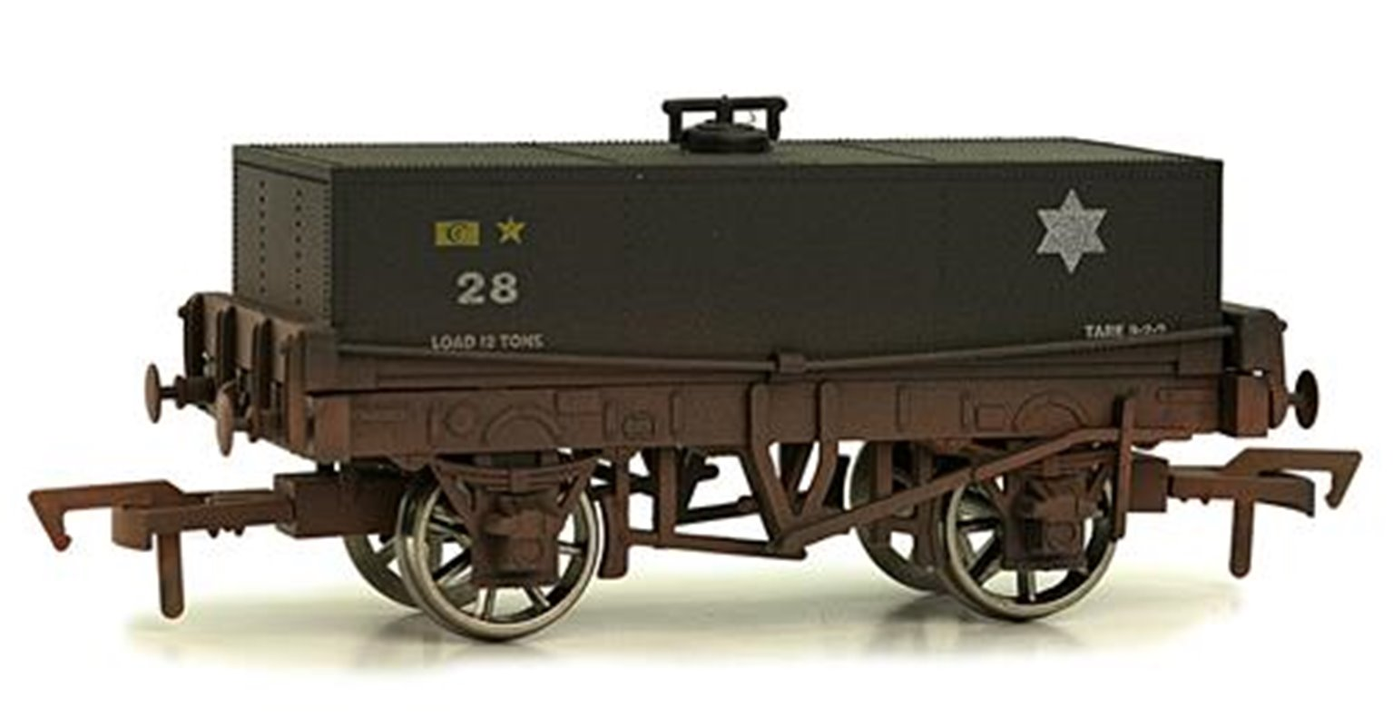 Rectangular Tank BR 28 - weathered