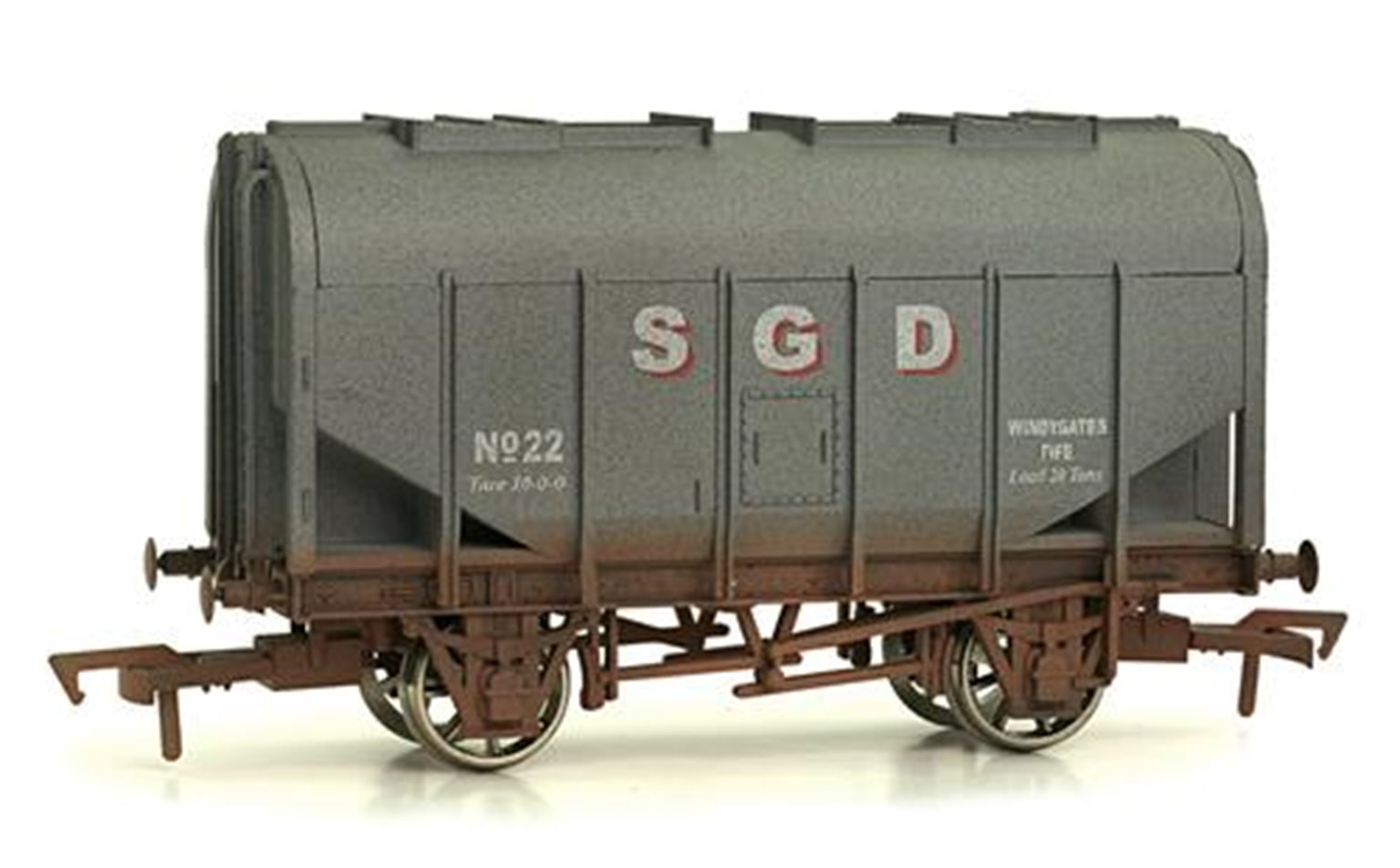 Bulk Grain Hopper SGD 22 Weathered