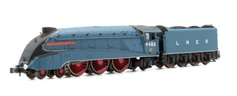 LNER A4 4488 Union of South Africa Garter Blue