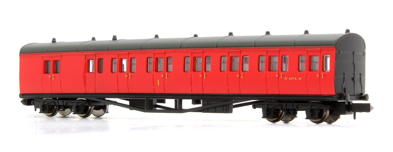 B Set Coach Pack BR Crimson 6975 & 6976 No Crest