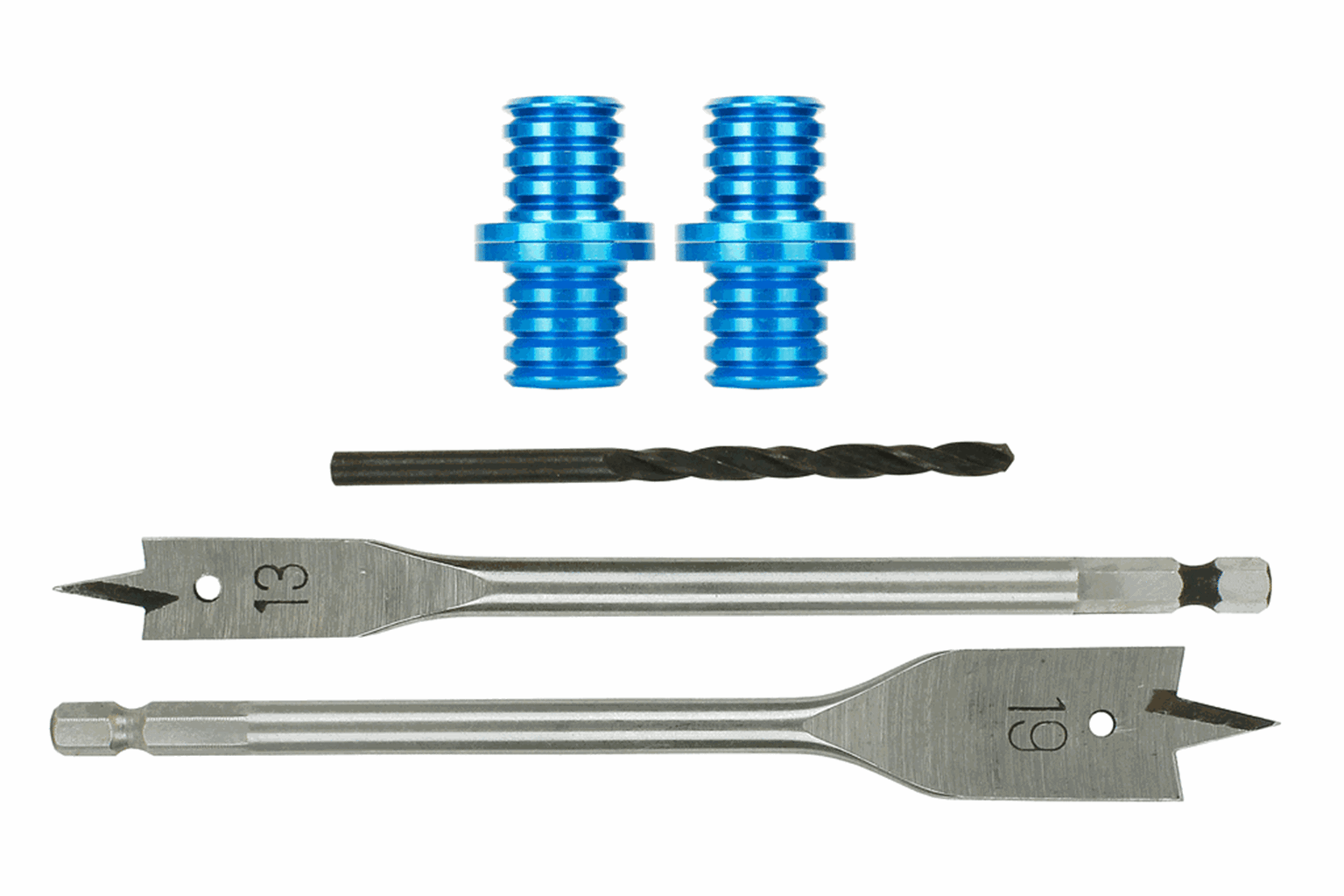 Baseboard Dowels (2) with Spade Drill Bits