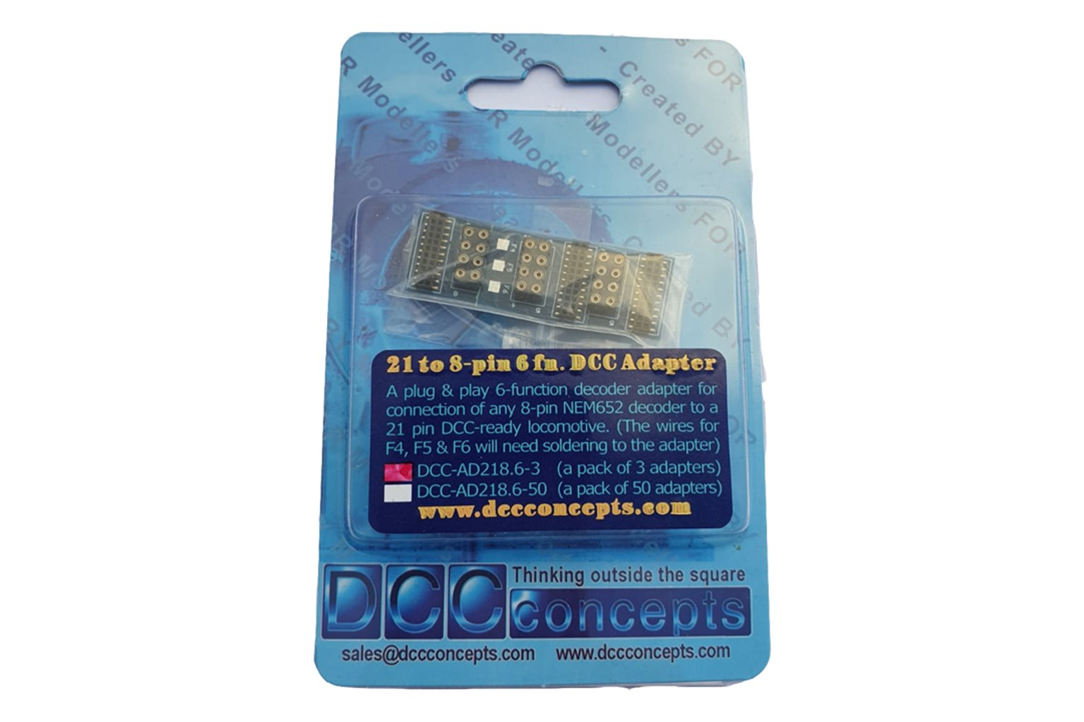 6 Function 21 to 8 Pin Adapter (3)