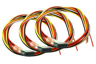 Decoder Harness 6 Pin Female (150mm) (3 Pack)
