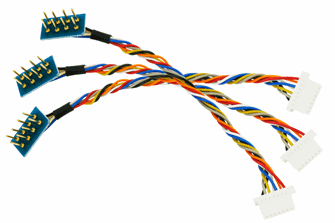 Decoder Harness 8 Pin to 7 Pin Mini JST (3 Pack)