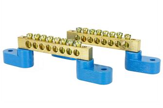 Solid Brass Power Distribution Bars (2)