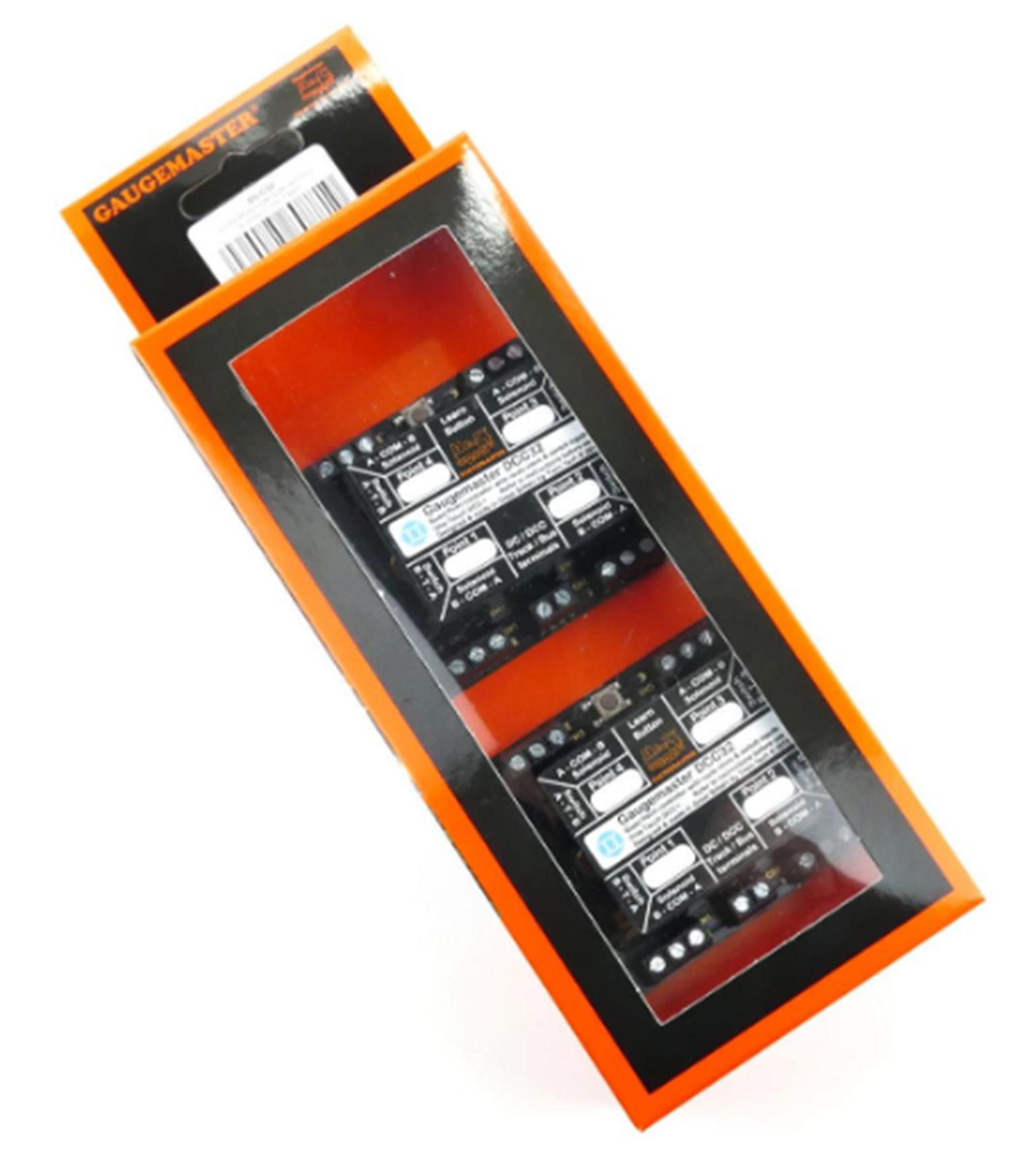 Point Motor Decoder W/CDU 4 Way (Twin Pack)