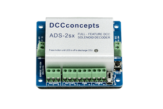 DCD-ADS2SX Accessory Decoder CDU Solenoid Drive SX (2 Way with Case)