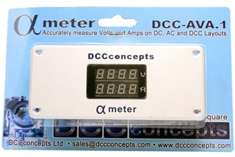 Alpha Meter for DC or DCC