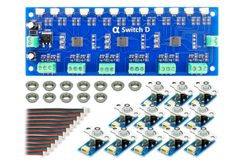 Cobalt Alpha Switch D Set Digital Devices (12 x Blue)