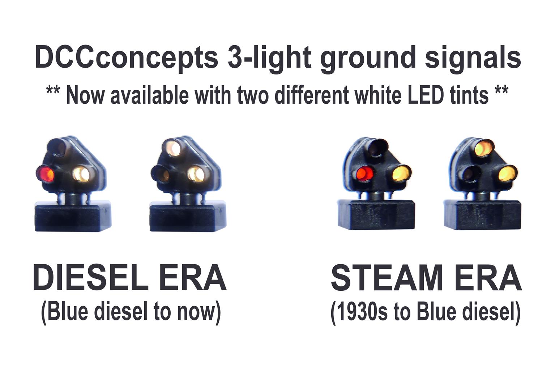 Alpha-Mimic Ground Signals 3 Light Red/Green (4)