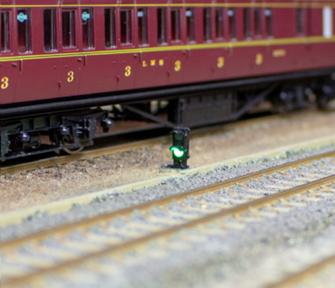 4x 2-wire Red/Green Ground Signal