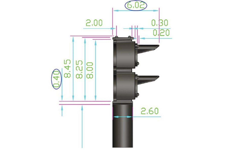 12x 2-wire US-type Ground Signal