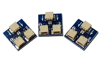3-pack of Simple Y Connectors for Alpha Mimic and Alpha Mimic Ground Signals