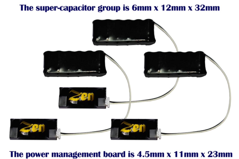 Zen 3-Wire Super High-Power Stay Alive for Zen Black & Blue+ Decoders  (3 Pack)