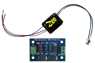 Zen Black Decoder: Universal easy to fit 8-pin direct decoder with 6 functions. Includes 1x ABC module