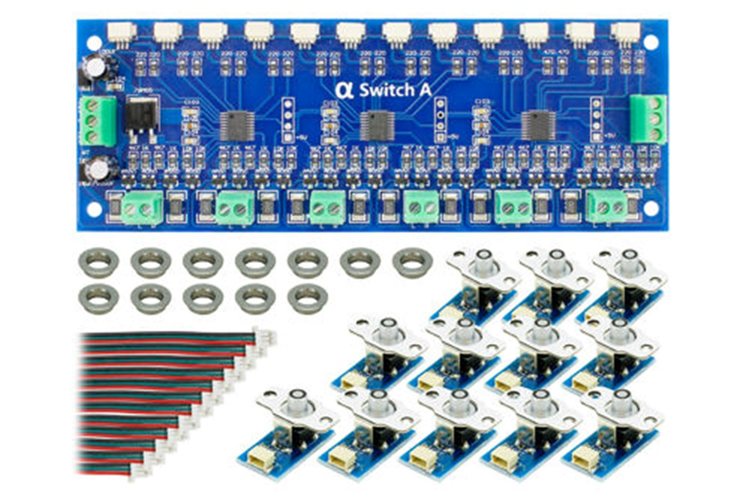 Cobalt AlphaSwitch-A (For Analogue Devices) Blue (12 Pack)