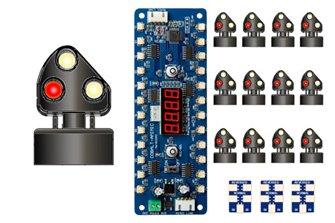 Alpha Mimic 12x STEAM Era 3-light Ground Signal