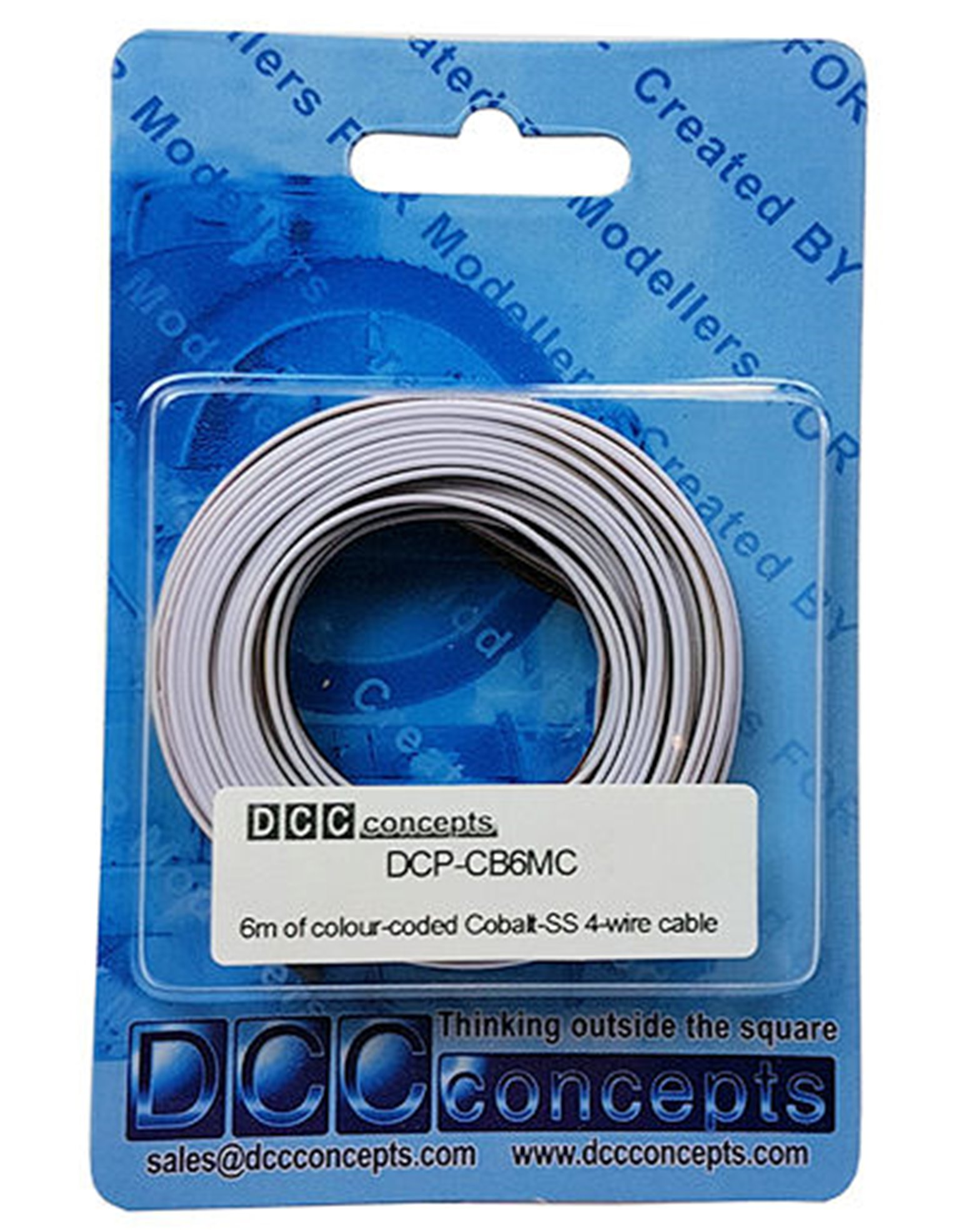 Cobalt SS 4 Wire Colour Coded Cable (6m)
