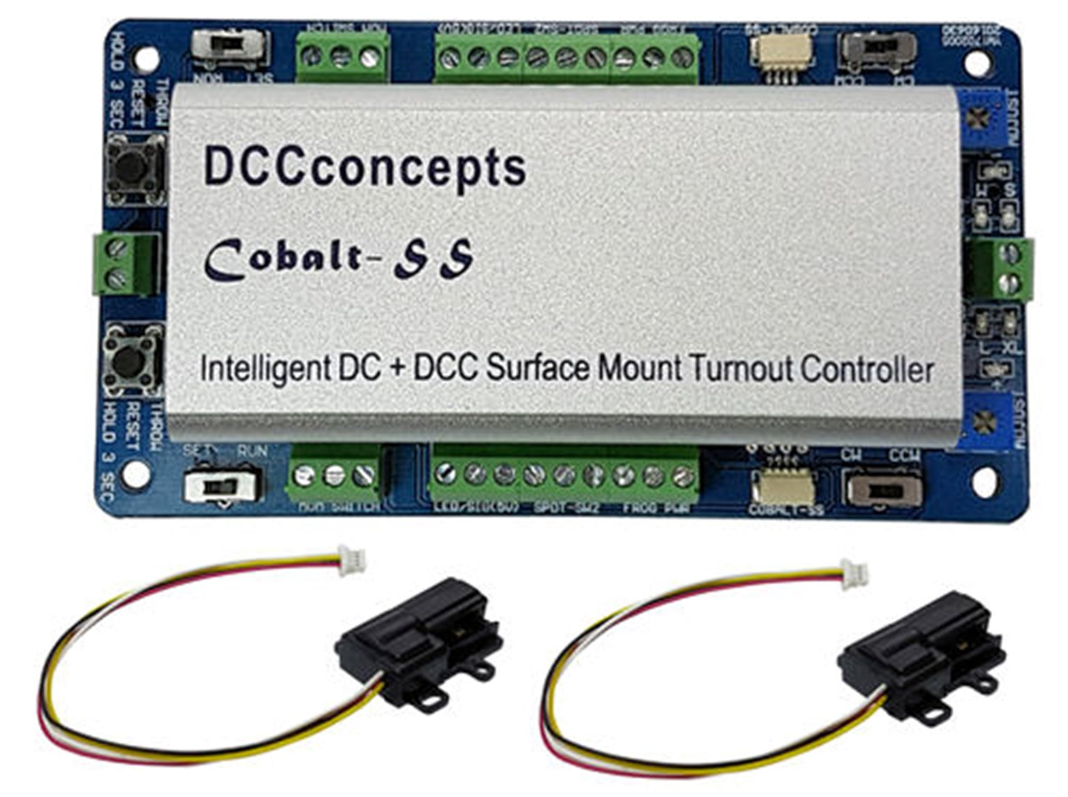 Cobalt SS Surface Mount Point Motor with Controller and Accessories (2 Pack)