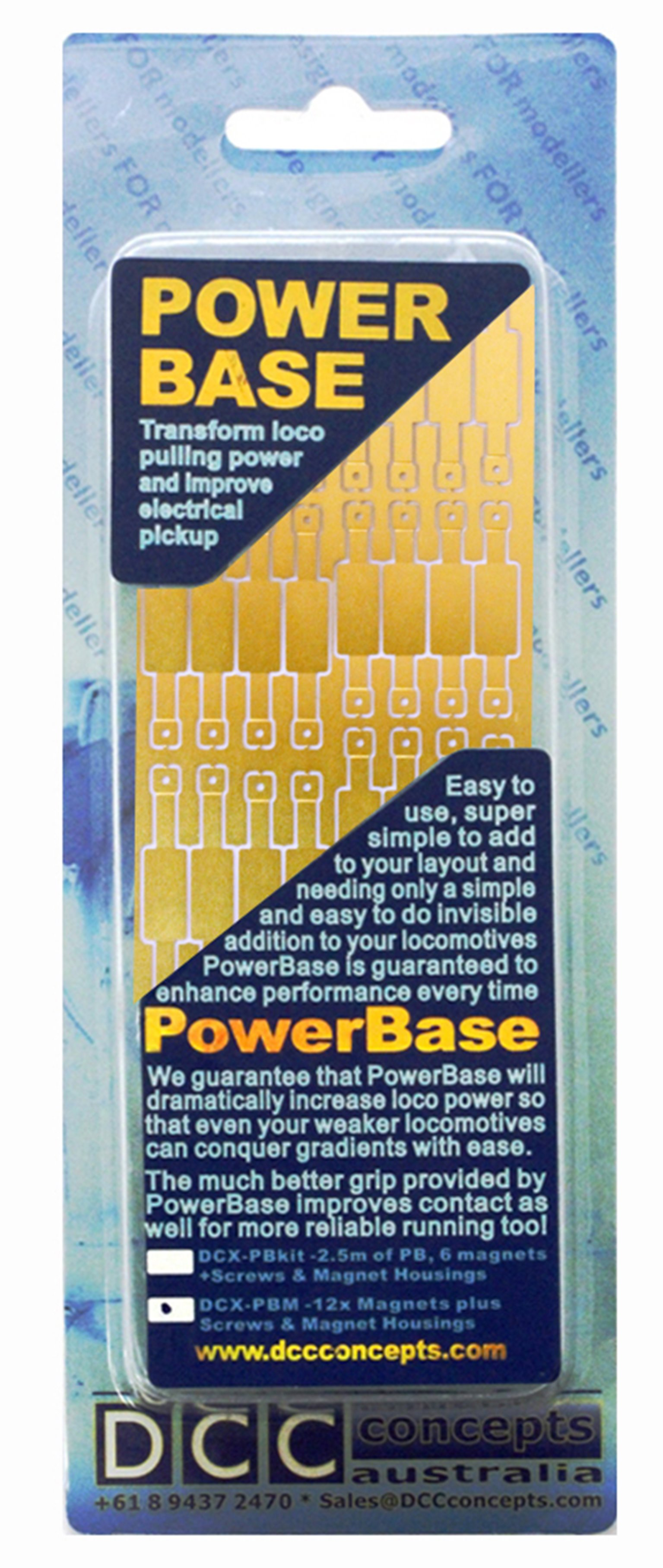DCC Concepts Powerbase OO Magnet Mounting Etches (35pcs)
