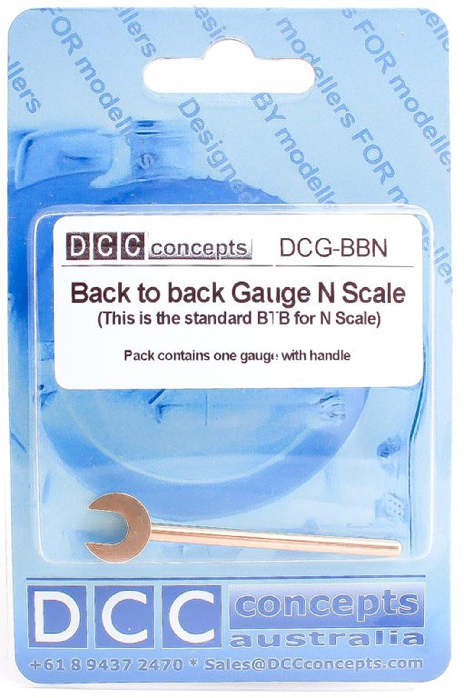 Back to Back N Scale (Standard) 7.65mm