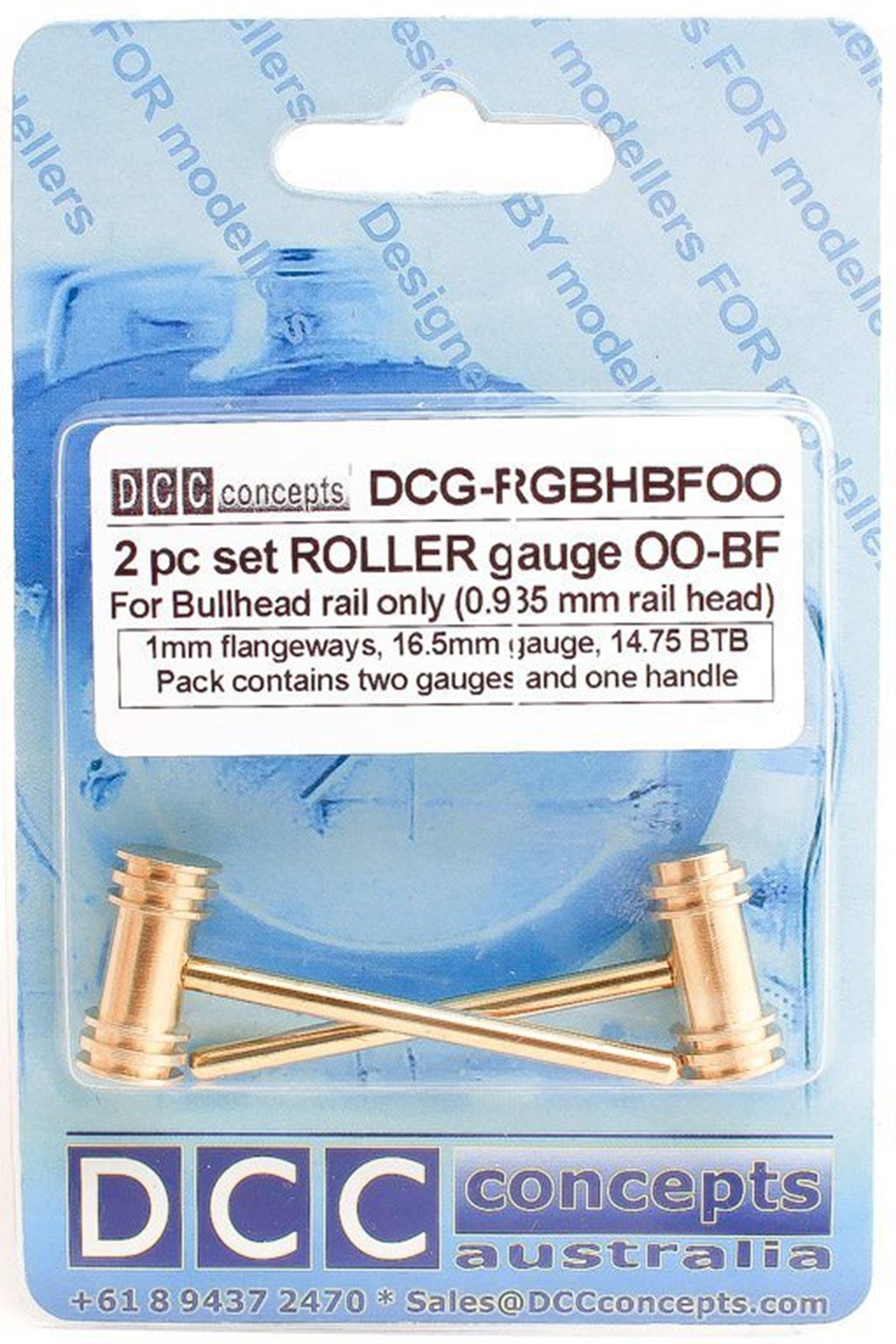 Roller Gauge (w/handle)  OO/HO (Standard)  16.5mm BH (2 Pack)