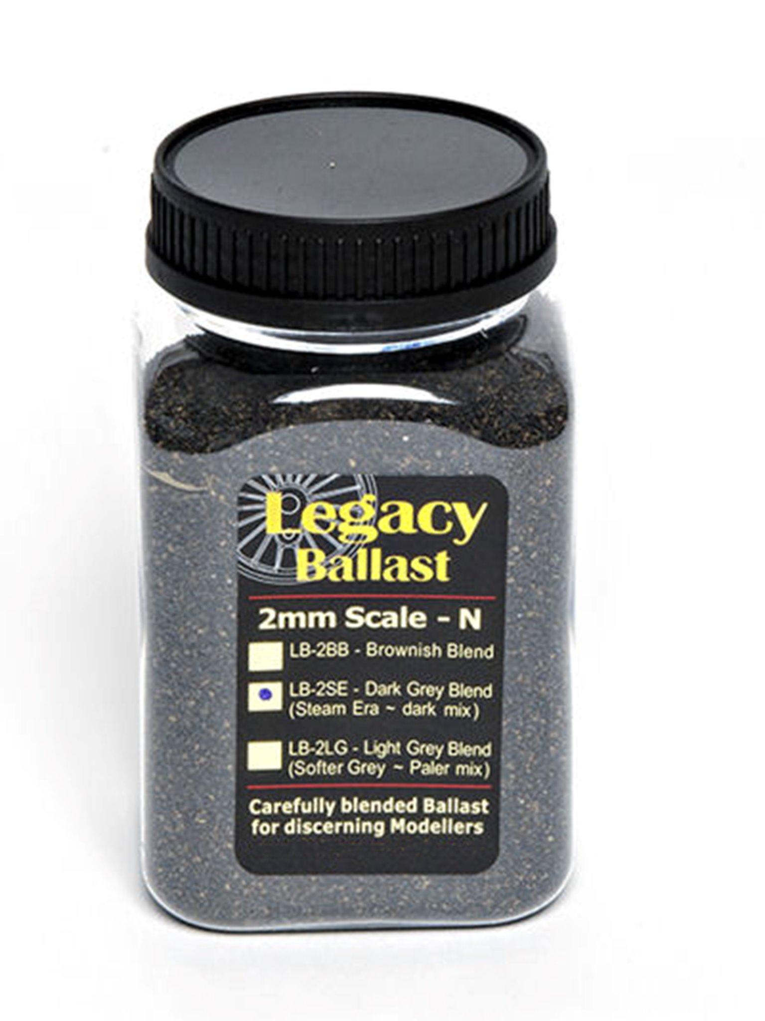 2mm/N scale Ballast – Shed or Steam Era
