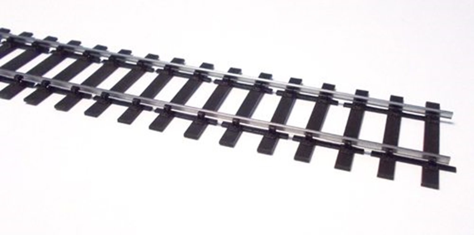 Pack of 12 Bullhead Track with 24 Rail Joiners