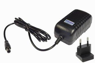 18V DC, 2A (EU) Super-high reliability power supply for DC/DCC systems – 2.5mm DC plug