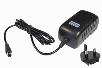 18V DC, 2A (UK) Super-high reliability power supply for DC/DCC systems – 2.5mm DC plug