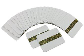 Cobalt Tiebar Labels (12 Pack)
