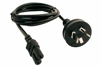 AU/NZ Mains Lead for PSU-2 or CDU-2 (Standards Approved)