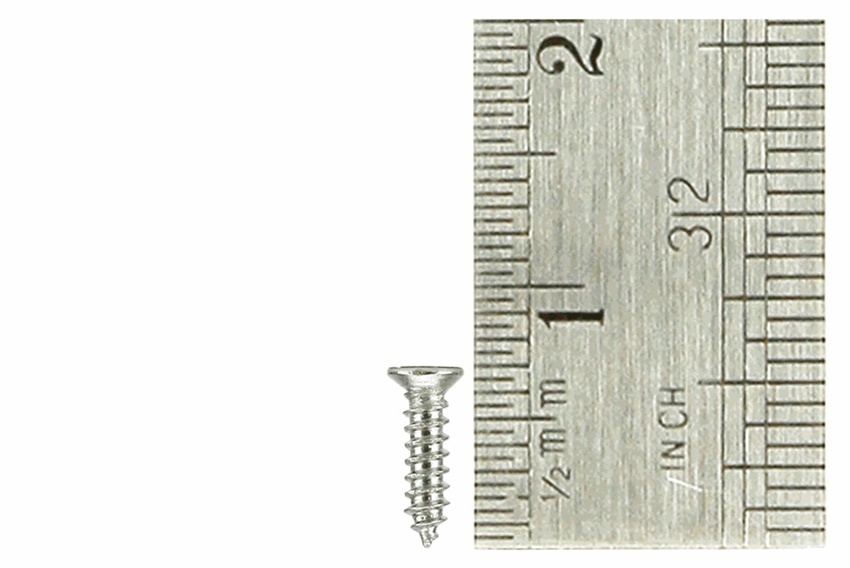 Countersunk Screws 1.5 x 6mm (60 Pieces)