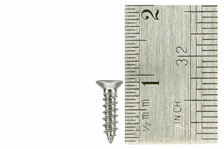 Countersunk Screws 2 x 8mm (60 Pieces)