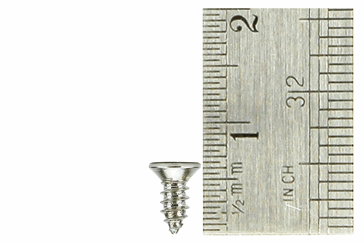 Countersunk Screws 2 x 6mm (60 Pieces)