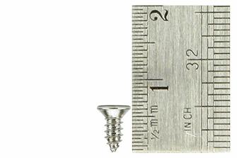Countersunk Screws 2 x 6mm (60 Pieces)