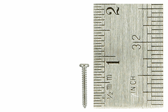 Pan Head Screws 1 x 8mm (60 Pieces)
