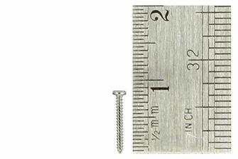 Pan Head Screws 1 x 8mm (60 Pieces)