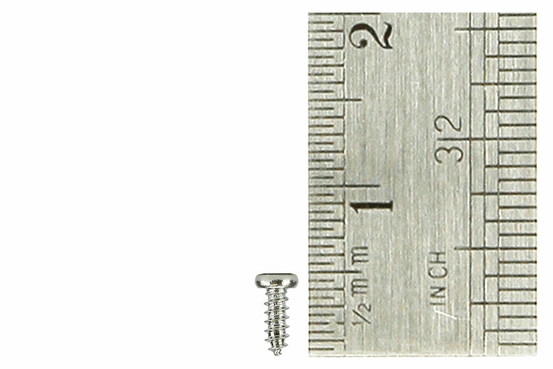 Pan Head Screws 1.5 x 4mm (60 Pieces)
