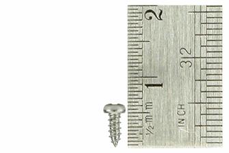 Pan Head Screws 2 x 5mm (60 Pieces)