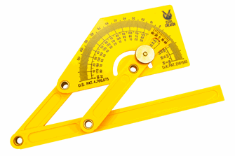 Compound Protractor  (Plastic)