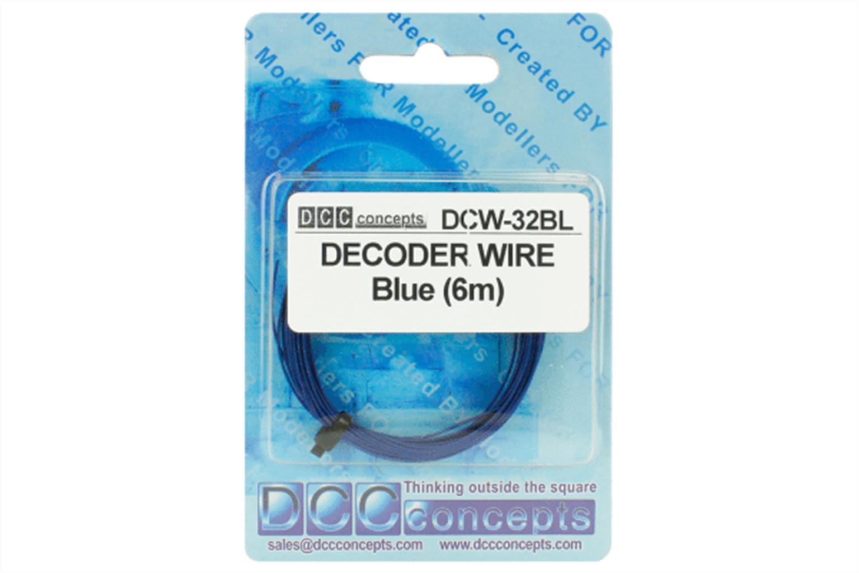Wire Decoder  Stranded 6m (32g)  Blue