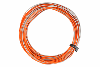 TWIN Wire Decoder  Stranded 6m (32g)  Orange/Grey