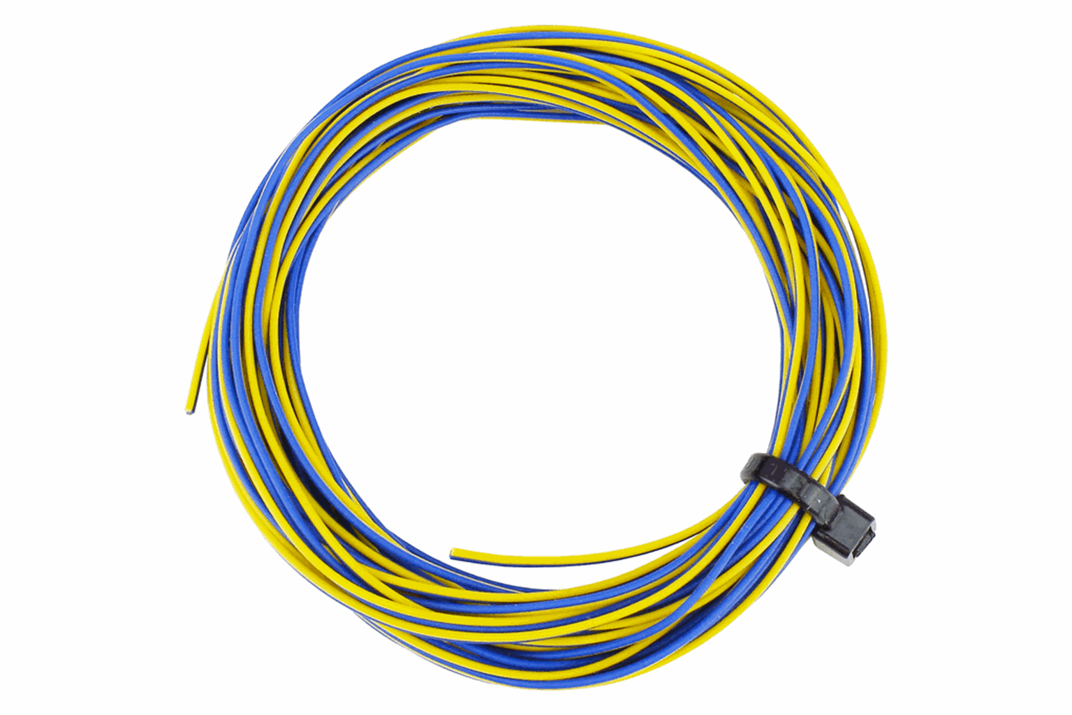 TWIN Wire Decoder Stranded 6m (32g) Yellow/Blue