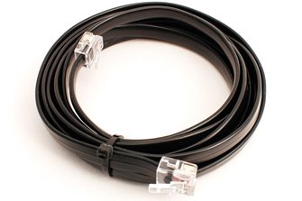 DCC Control Bus cable 6 Core Pre-made 4m