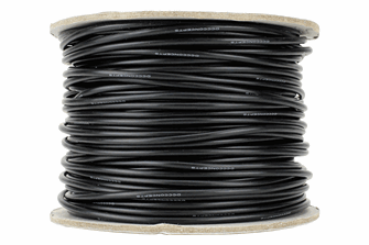 Power Bus Wire 50m of 2.5mm (13g) Black