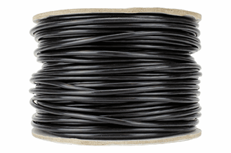 Power Bus Wire 50m of 3.5mm (11g) Black